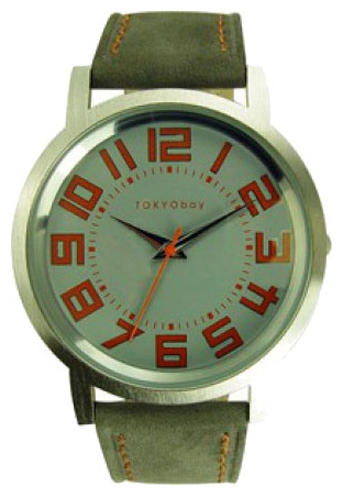 Wrist unisex watch TOKYObay Small Track Grey - picture, photo, image