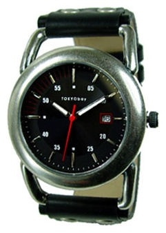 Wrist unisex watch TOKYObay Speed Silver/Black - picture, photo, image