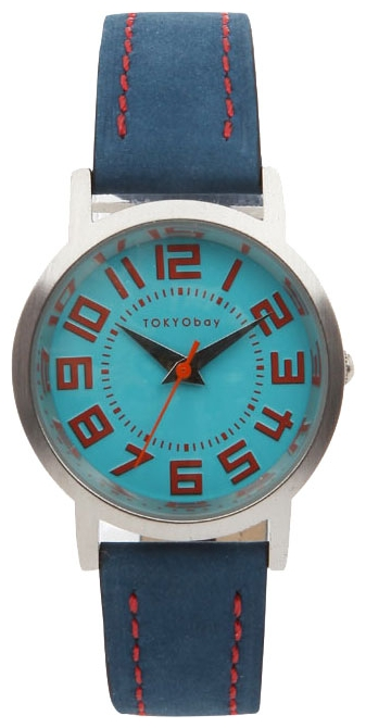 Wrist unisex watch TOKYObay Track Blue - picture, photo, image