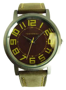 Wrist unisex watch TOKYObay Track Brown - picture, photo, image