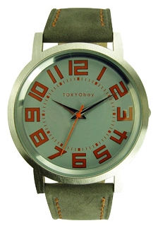 Wrist unisex watch TOKYObay Track Grey - picture, photo, image