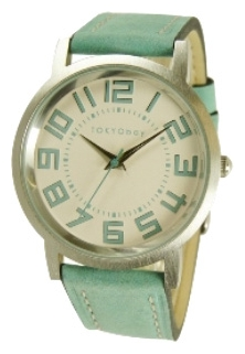 Wrist unisex watch TOKYObay Track Turquoise - picture, photo, image
