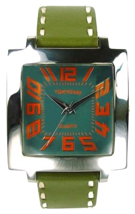 Wrist unisex watch TOKYObay Tram Green - picture, photo, image