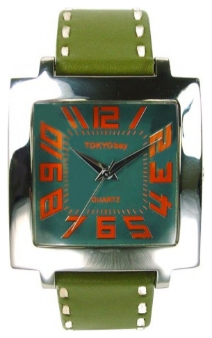 Wrist unisex watch TOKYObay Tramette Green - picture, photo, image