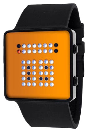 Wrist unisex watch Tokyoflash TTBW orange - picture, photo, image