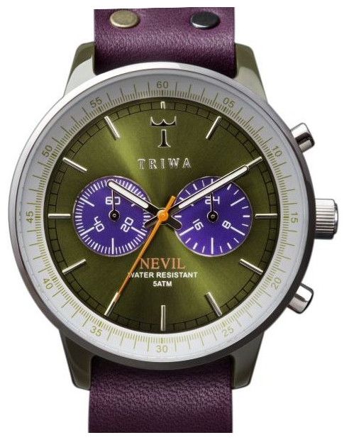 Wrist unisex watch TRIWA Peacock Nevil - picture, photo, image