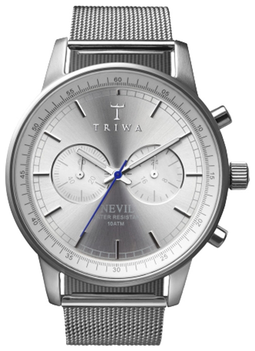 Wrist unisex watch TRIWA Stirling Steel Nevil - picture, photo, image