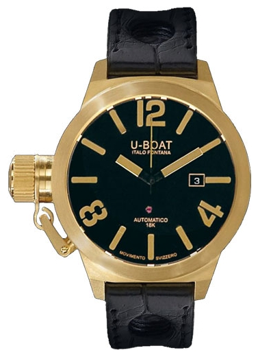 Wrist watch U-BOAT CLASSICO GOLD 45 A 18K / 18K Y for Men - picture, photo, image