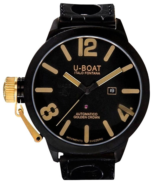 Wrist watch U-BOAT CLASSICO GOLDEN CROWN 45 AB 18K Y 1 for Men - picture, photo, image