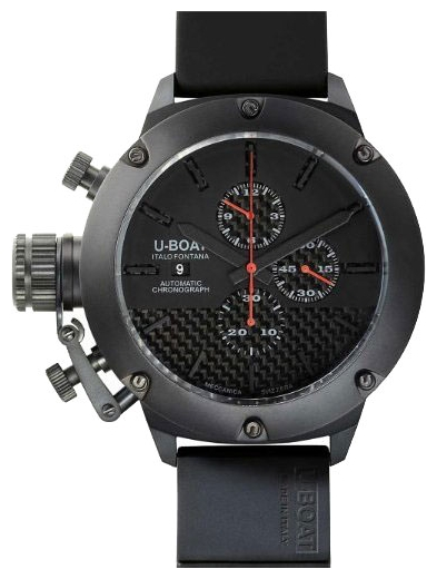 Wrist watch U-BOAT Limited edition 53 TITANIUM IPB CRONO for Men - picture, photo, image