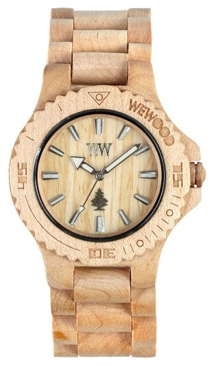 Wrist unisex watch Wewood Date Beige - picture, photo, image
