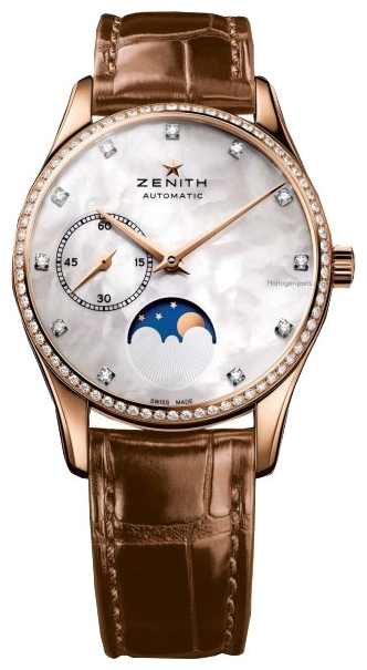 Wrist watch ZENITH 22.2310.692/81.C709 for women - picture, photo, image